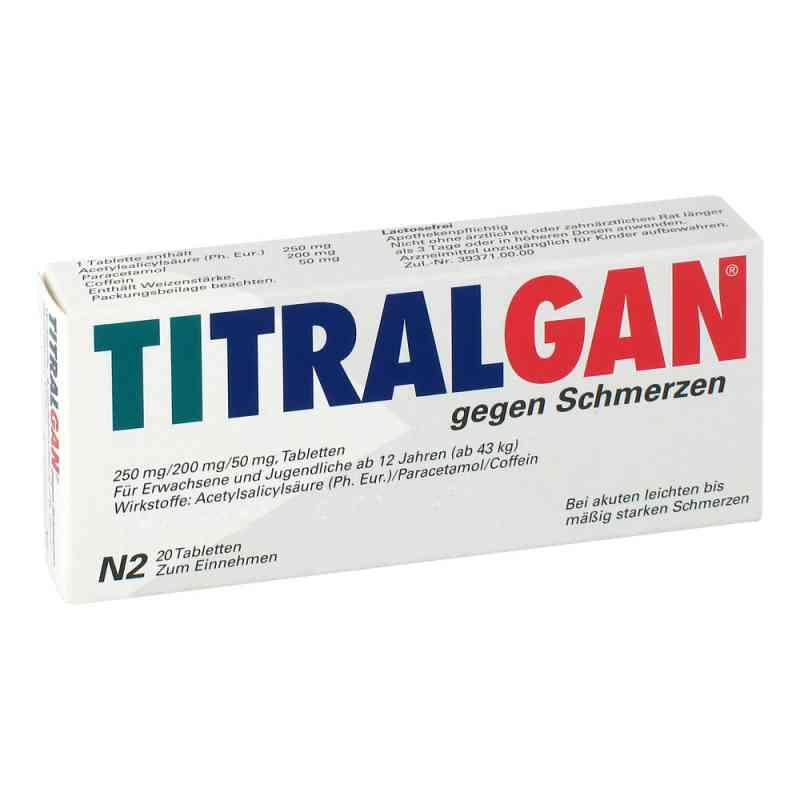 TITRALGAN gegen Schmerzen  bei apotheke.at bestellen