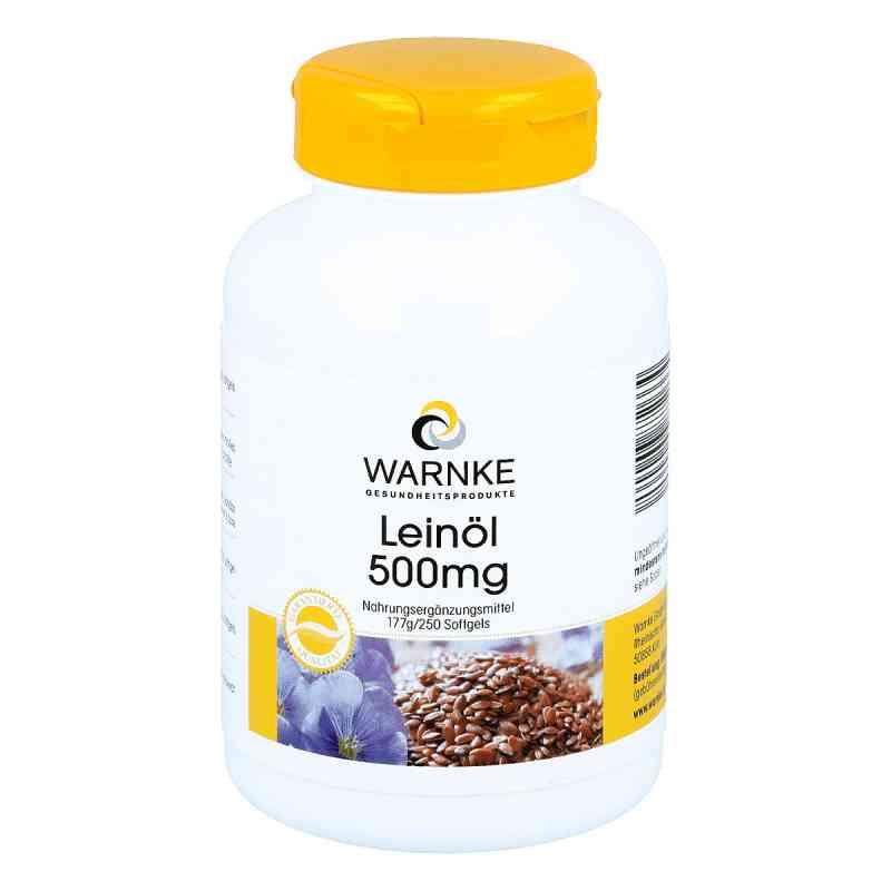Leinöl 500 mg Kapseln  bei apotheke.at bestellen