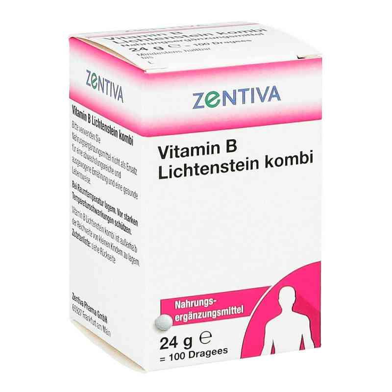 Vitamin B Lichtenstein Kombi Dragees bei apotheke.at bestellen