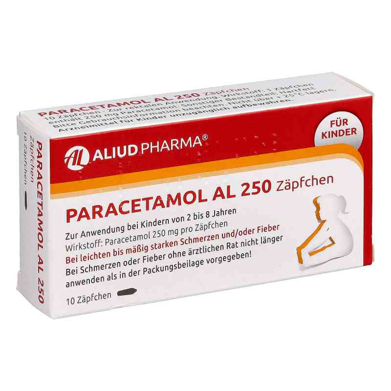 Paracetamol AL 250 bei apotheke.at bestellen