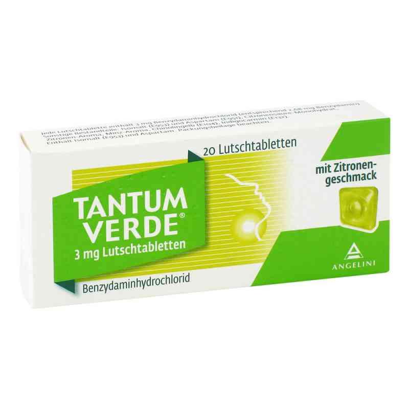 Tantum Verde 3 mg mit Zitronengeschmack Lutschtab.  bei apotheke.at bestellen