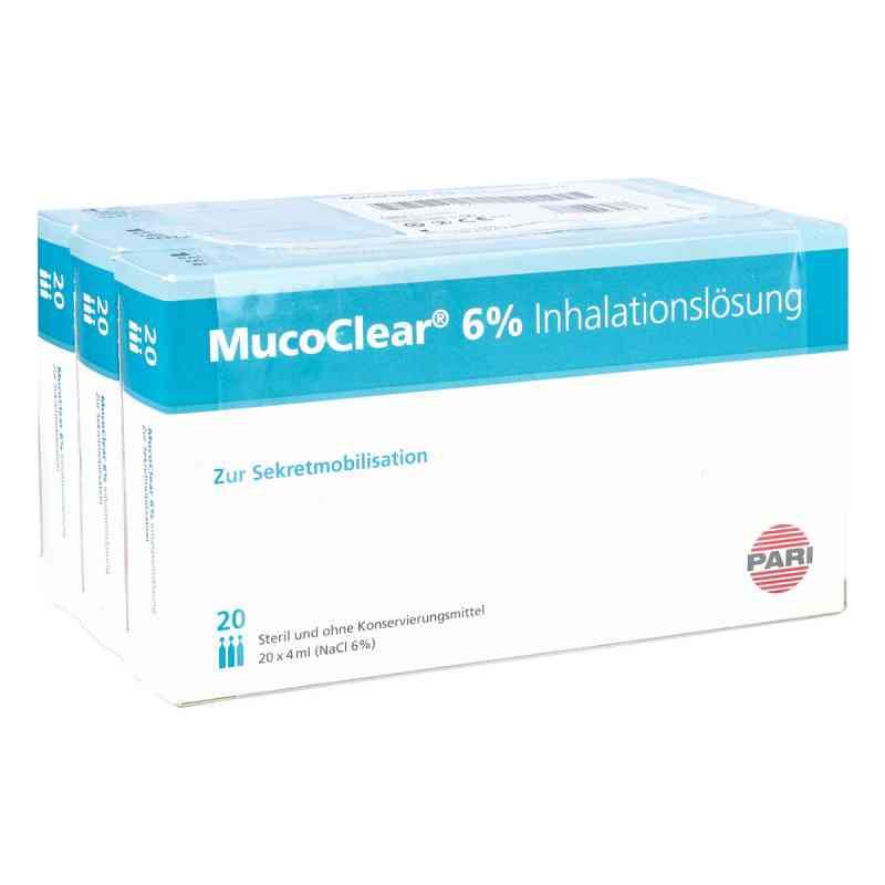 Mucoclear 6% Nacl Inhalationslösung  bei apotheke.at bestellen