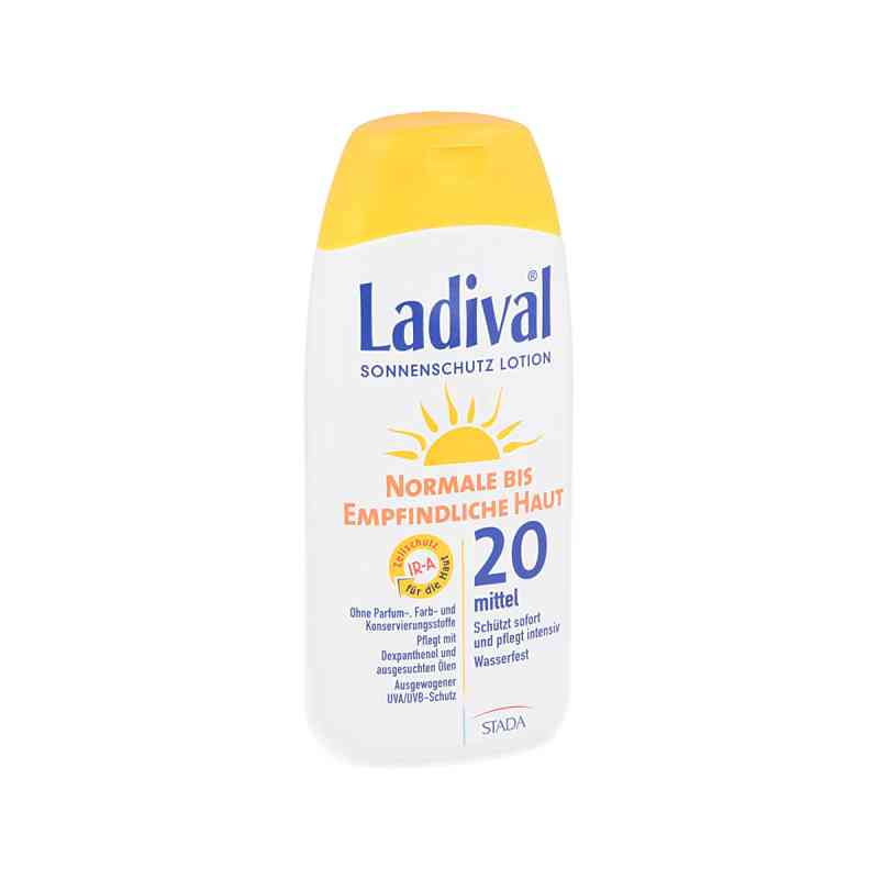 Ladival norm.bis empfindl.Haut Lotion Lsf 20  bei apotheke.at bestellen
