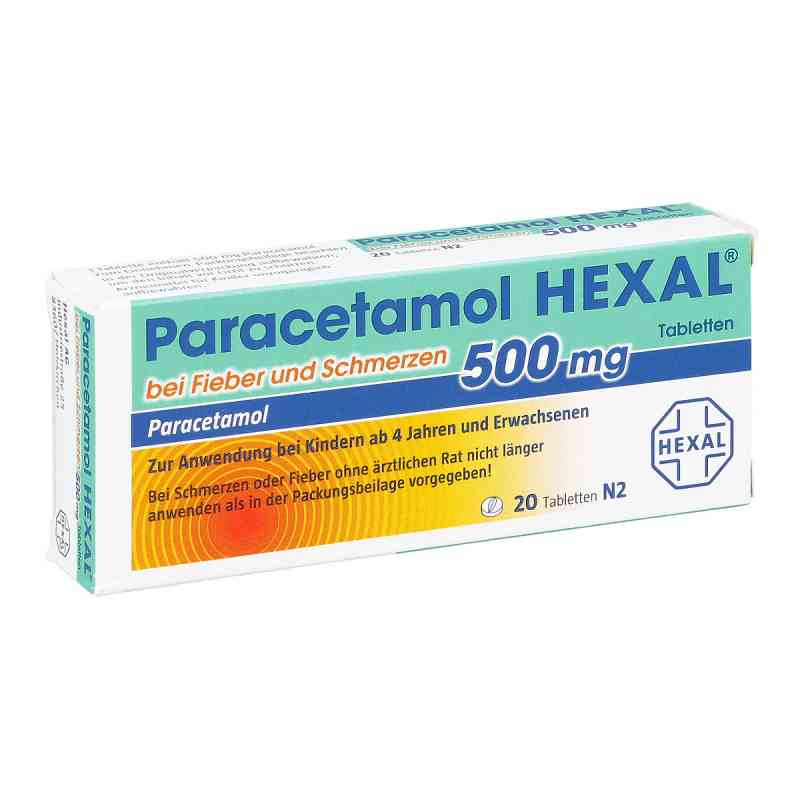Paracetamol 500mg HEXAL bei Fieber und Schmerzen bei apotheke.at bestellen