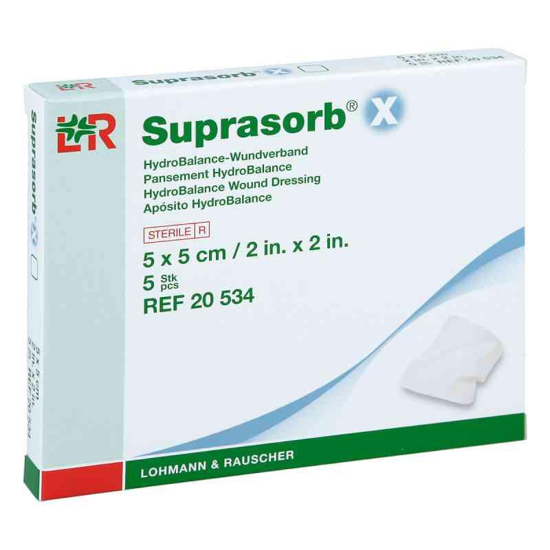 Suprasorb X Hydrobalance Wundverband 5x5cm  bei apotheke.at bestellen