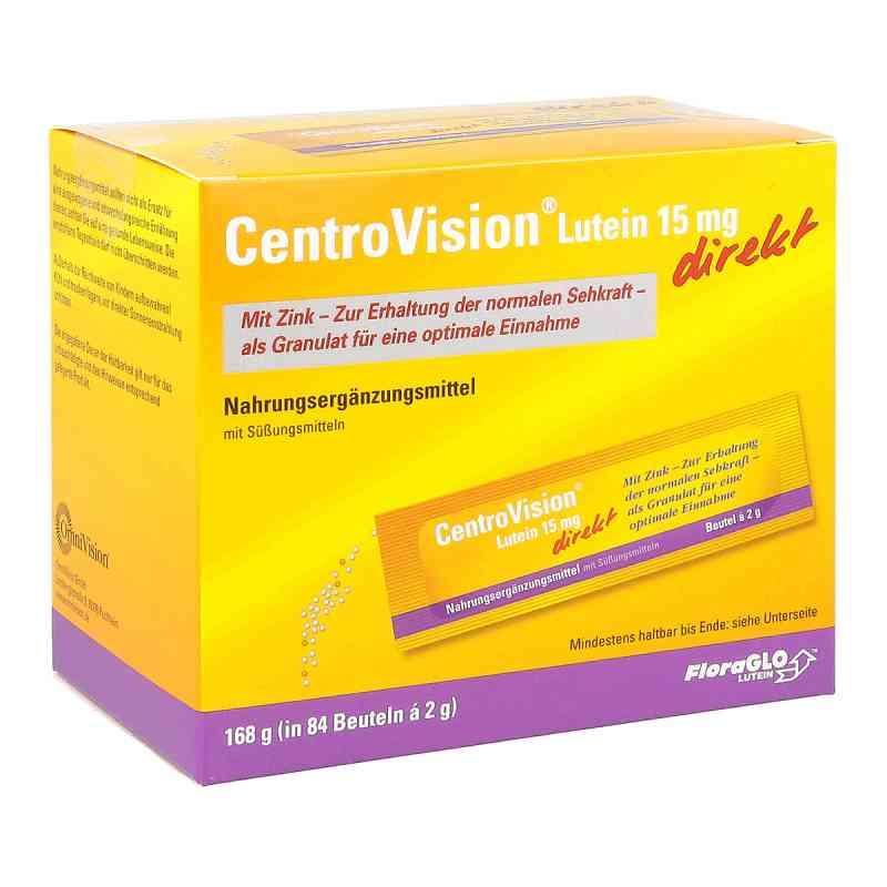 Centrovision Lutein 15 mg direkt Granulat bei apotheke.at bestellen