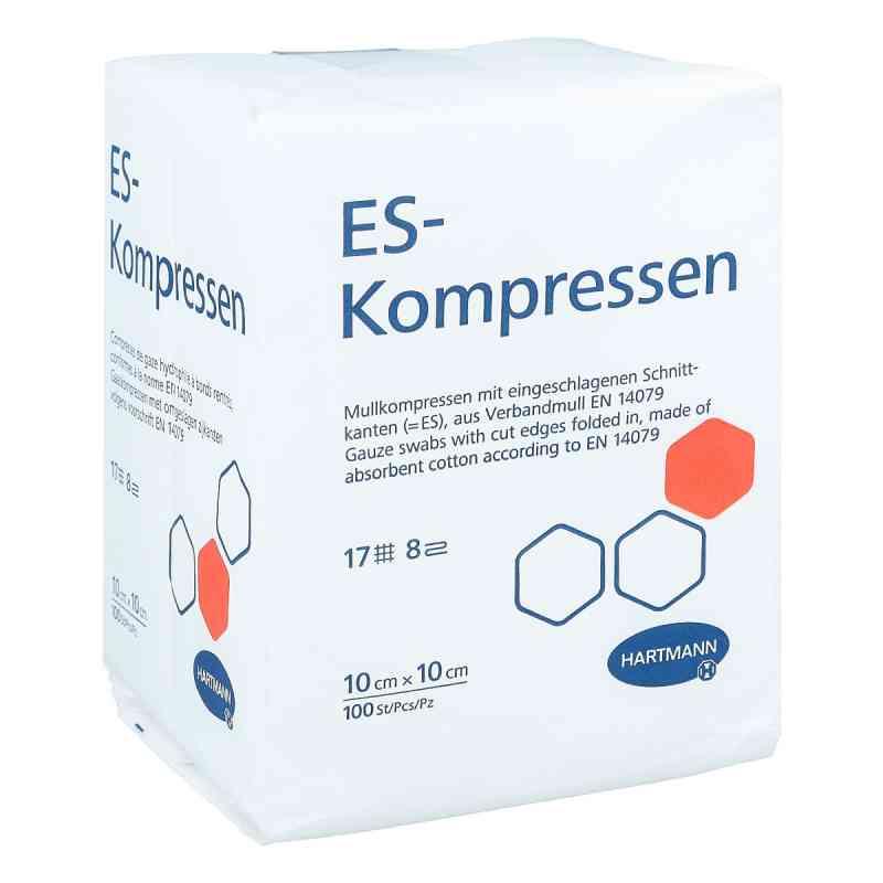 Es-kompressen unsteril 10x10 cm 8fach Cpc  bei apotheke.at bestellen