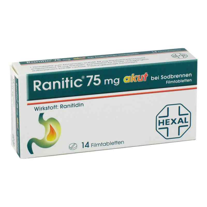 Ranitic 75mg akut bei Sodbrennen bei apotheke.at bestellen