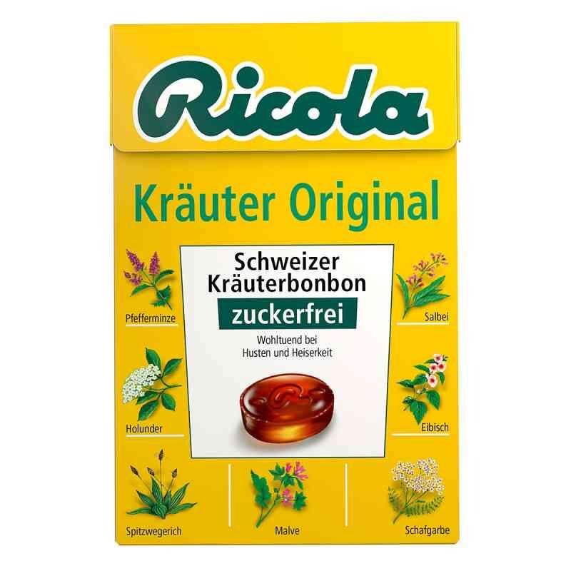 Ricola ohne Zucker  Box Kräuter Bonbons  bei apotheke.at bestellen