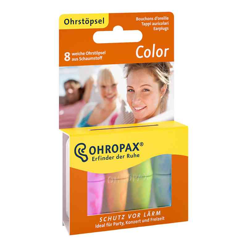 Ohropax Color Schaumstoff Stöpsel  bei apotheke.at bestellen