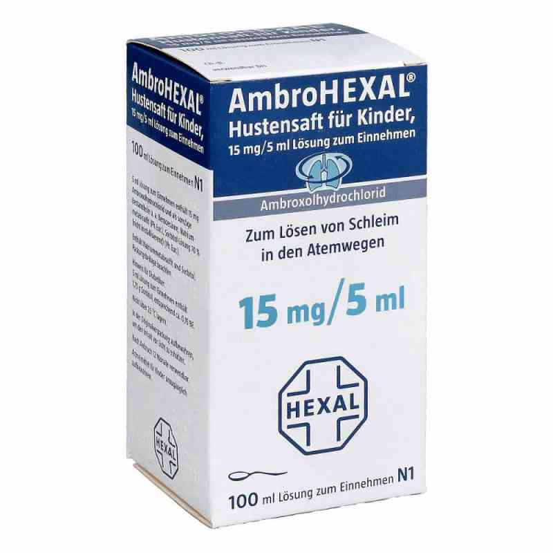 AmbroHEXAL Hustensaft für Kinder 15mg/5ml  bei apotheke.at bestellen