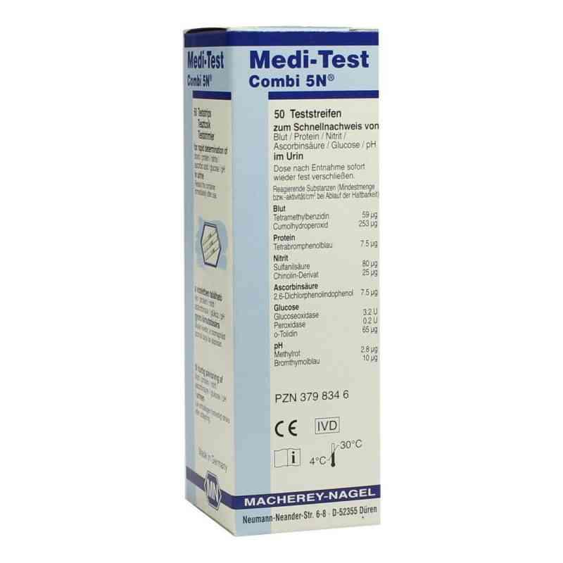 Medi Test Combi 5n Teststreifen  bei apotheke.at bestellen