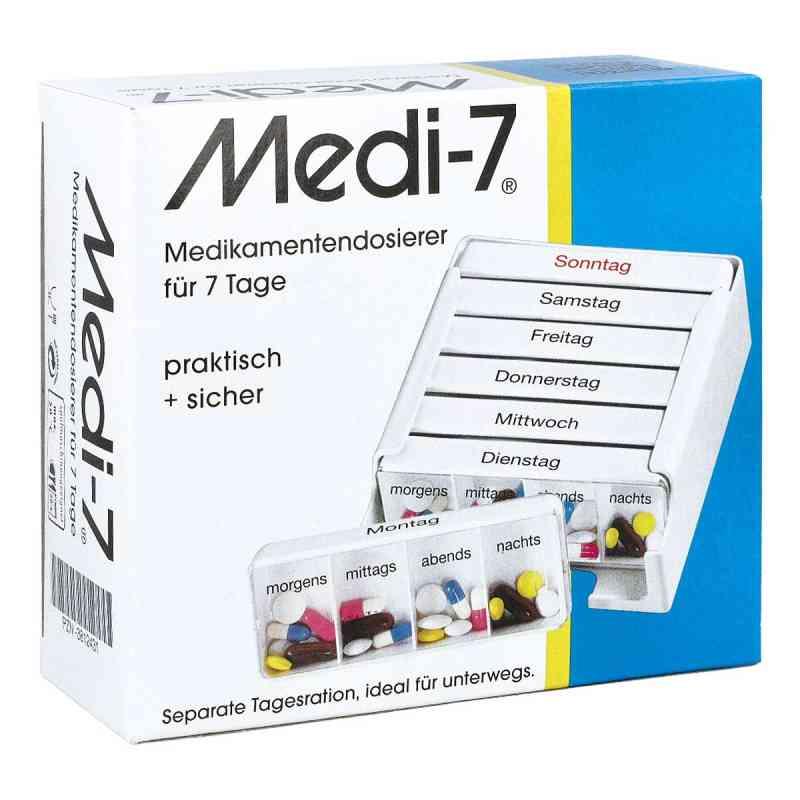Medi 7 Medikamenten Dosierer für 7 Tage bei apotheke.at bestellen