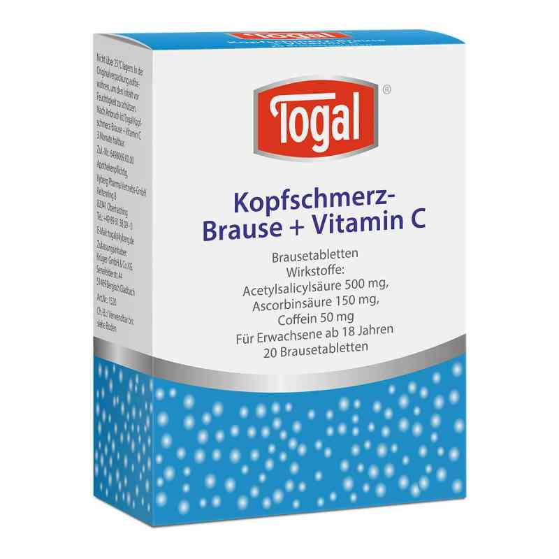 Togal Kopfschmerz-Brause+Vitamin C  bei apotheke.at bestellen