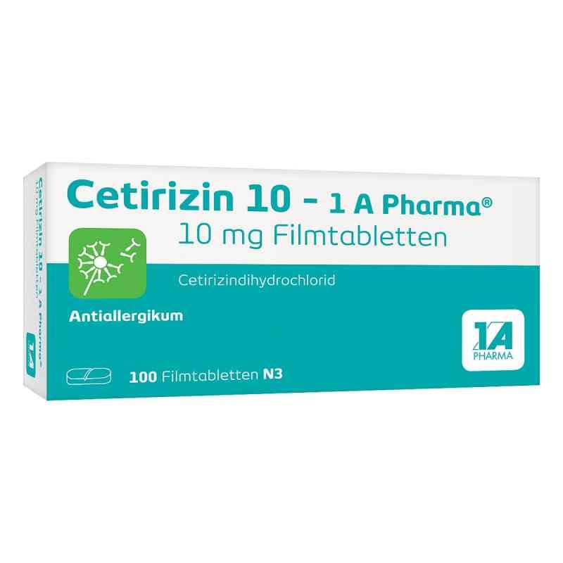 Cetirizin 10-1A Pharma  bei apotheke.at bestellen
