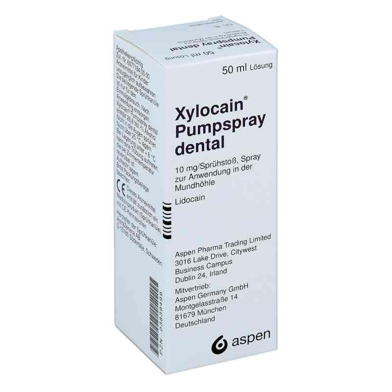 Xylocain Pumpspray Dental bei apotheke.at bestellen
