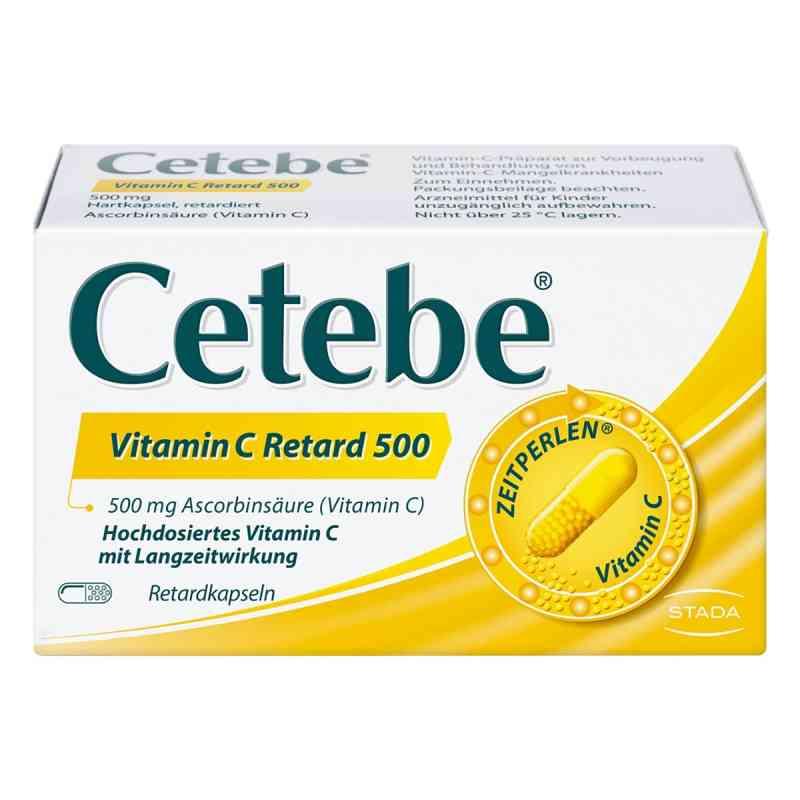 Cetebe Vitamin C Retardkapseln 500 mg  bei apotheke.at bestellen