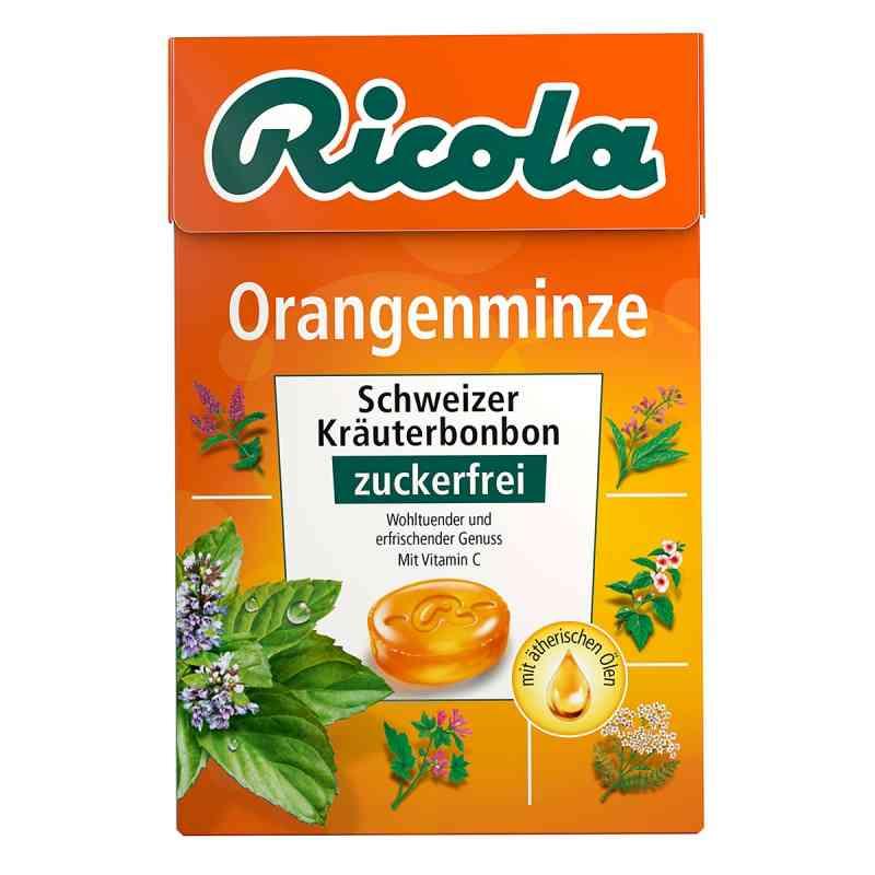 Ricola ohne Zucker  Box Orangenminze Bonbons bei apotheke.at bestellen