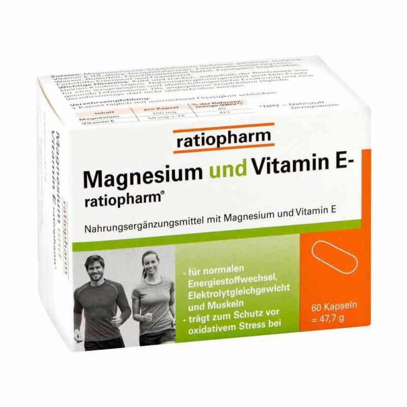 Magnesium Und Vitamin E ratiopharm Kapseln bei apotheke.at bestellen