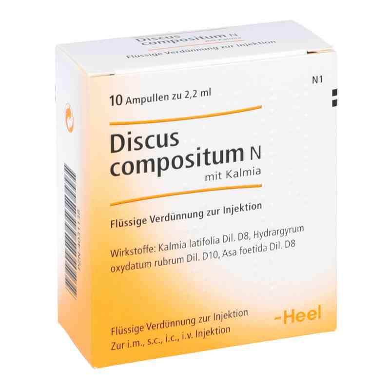 Discus compositum N mit Kalmia Ampullen bei apotheke.at bestellen