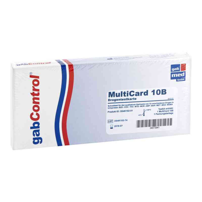 Drogentest Multi 10b alle Drogen  bei apotheke.at bestellen