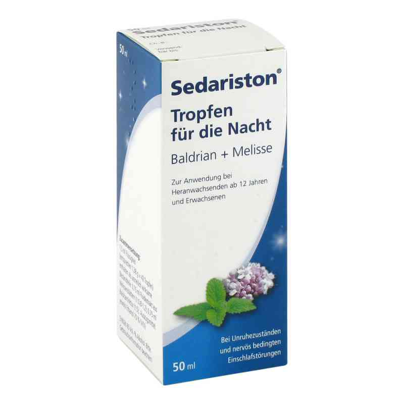 Sedariston Tropfen für die Nacht Baldrian + Melisse  bei apotheke.at bestellen