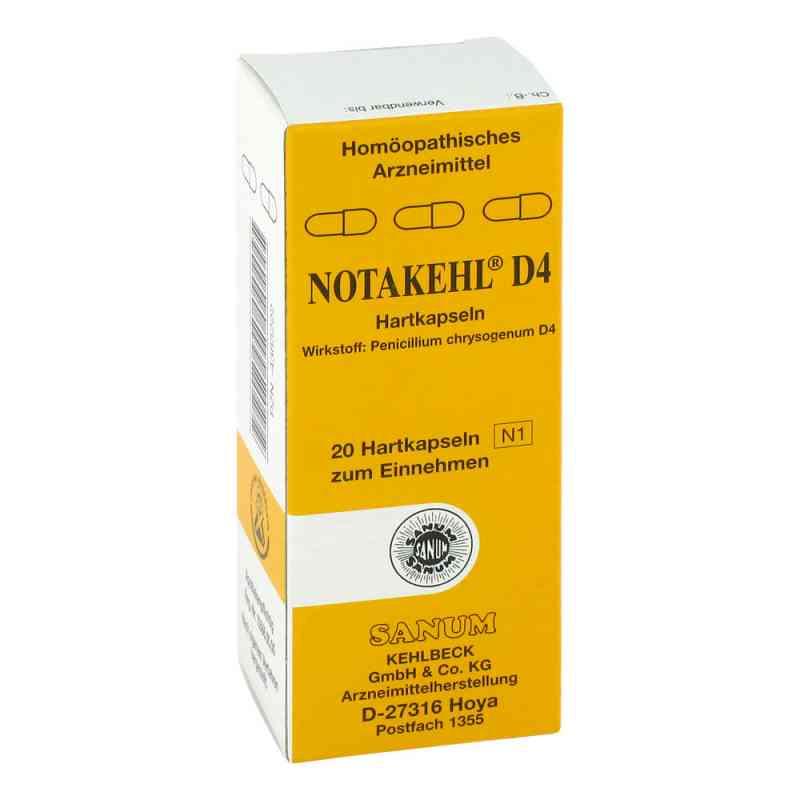 Notakehl D 4 Kapseln  bei apotheke.at bestellen