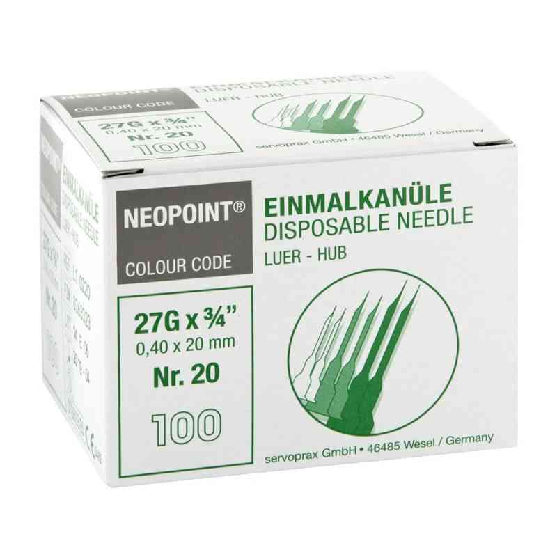 Kanülen Neopoint 20 0,40x20 bei apotheke.at bestellen