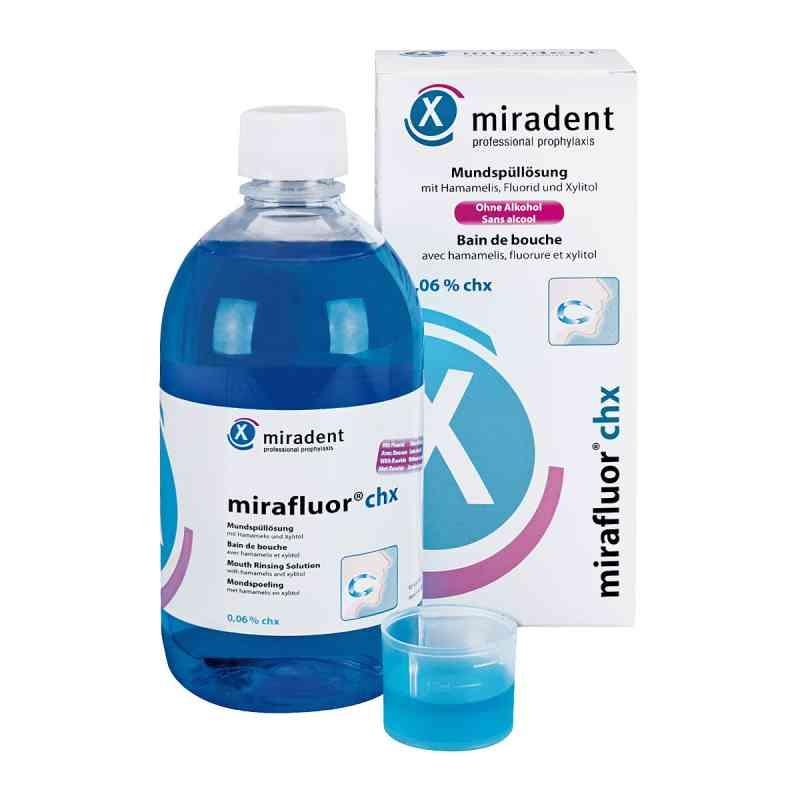 Miradent Mundspüllösung mirafluor chx 0,06%  bei apotheke.at bestellen