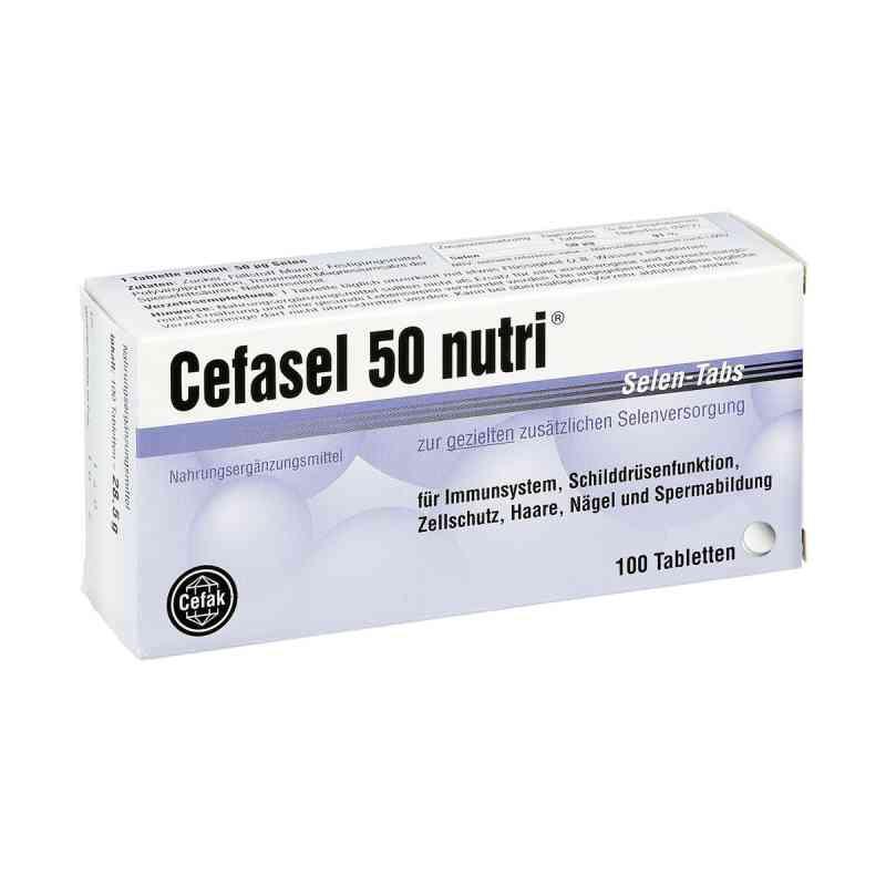 Cefasel 50 nutri Selen Tabs Tabletten bei apotheke.at bestellen