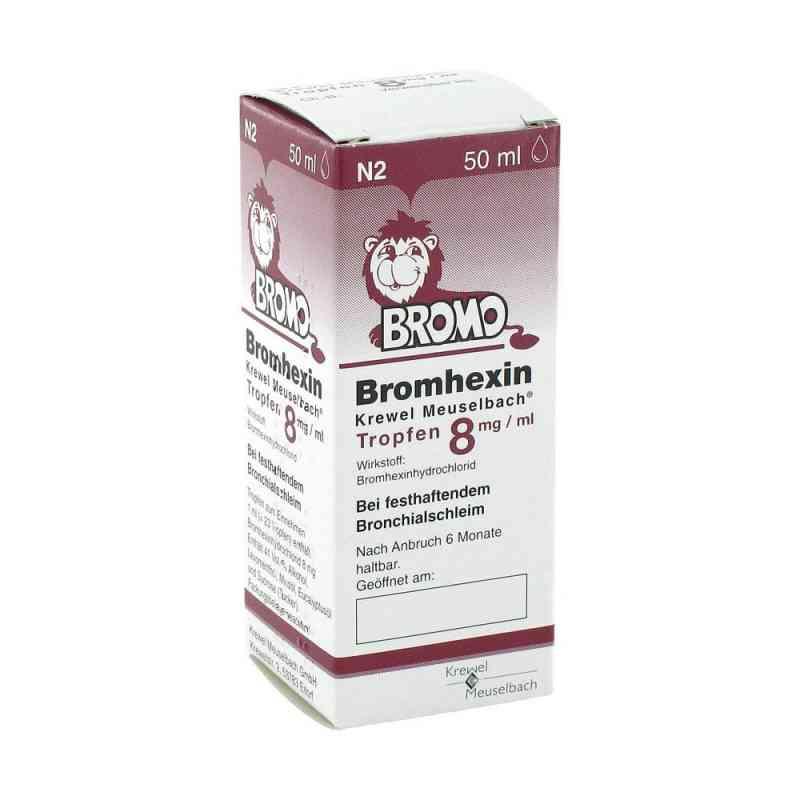 Bromhexin Krewel Meuselbach 8mg/ml  bei apotheke.at bestellen