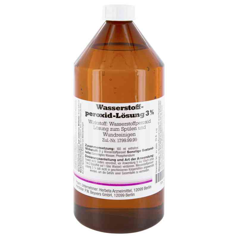 Wasserstoffperoxid Lösung 3% bei apotheke.at bestellen