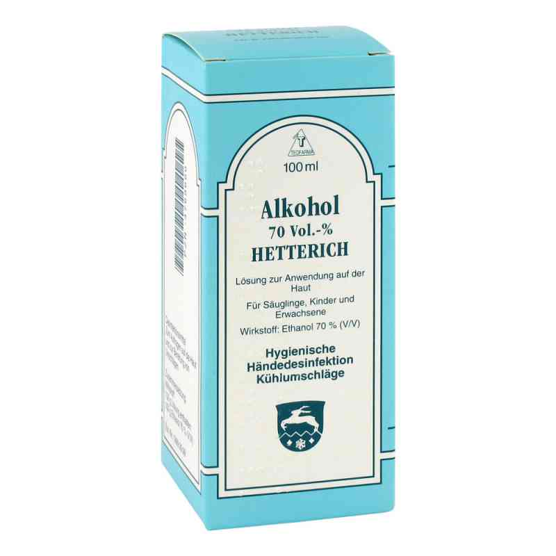 Alkohol 70% V/v Hetterich  bei apotheke.at bestellen