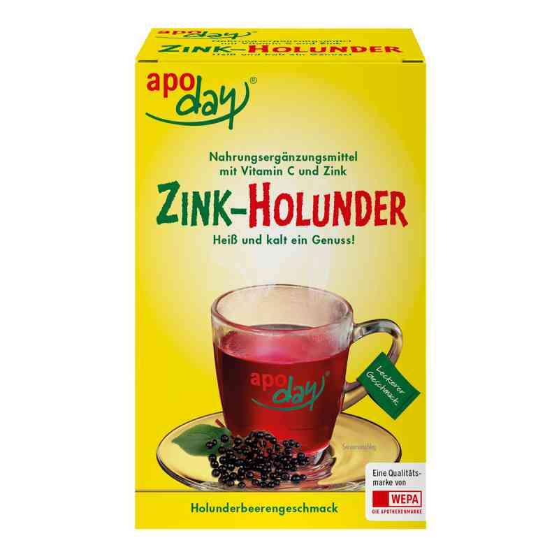 Apoday Holunder Vitamin C+zink ohne Zucker  Pulver  bei apotheke.at bestellen
