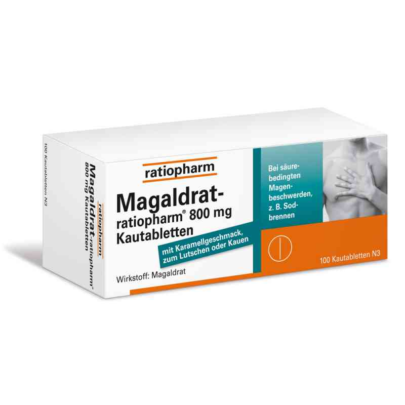 Magaldrat-ratiopharm 800mg  bei apotheke.at bestellen