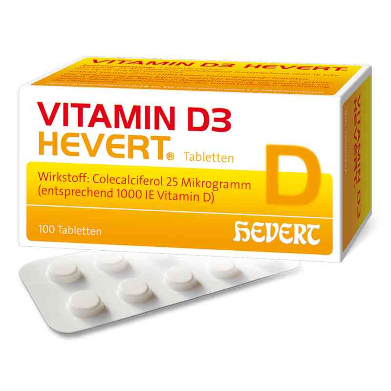 Vitamin D3 Hevert Tabletten  bei apotheke.at bestellen