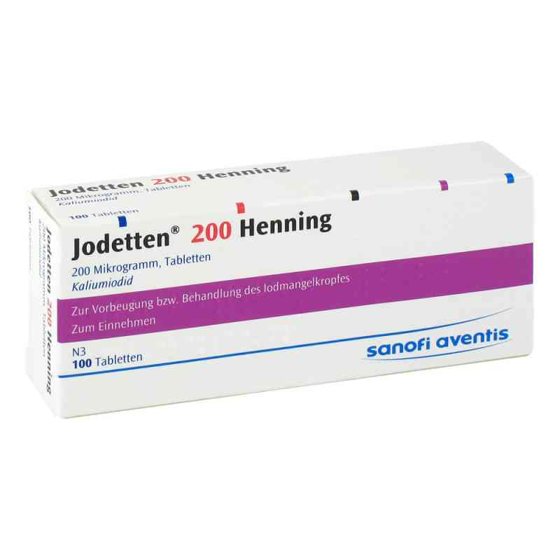 Jodetten 200 Henning 200 Mikrogramm  bei apotheke.at bestellen