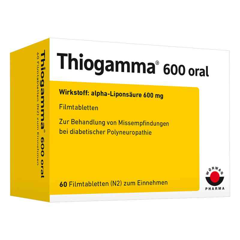 Thiogamma 600 oral  bei apotheke.at bestellen