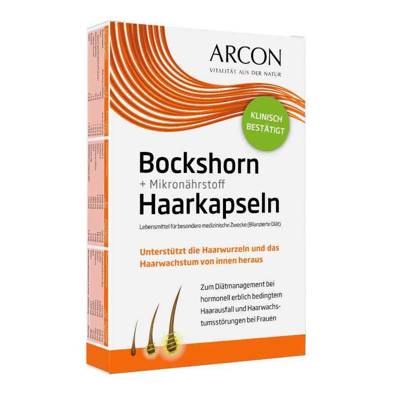 Bockshorn + Mikronährstoff Haarkapseln Tisane p bei apotheke.at bestellen