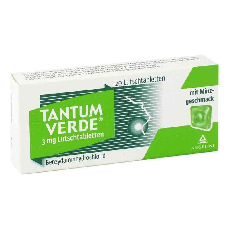 Tantum Verde 3 mg Lutschtabletten  bei apotheke.at bestellen