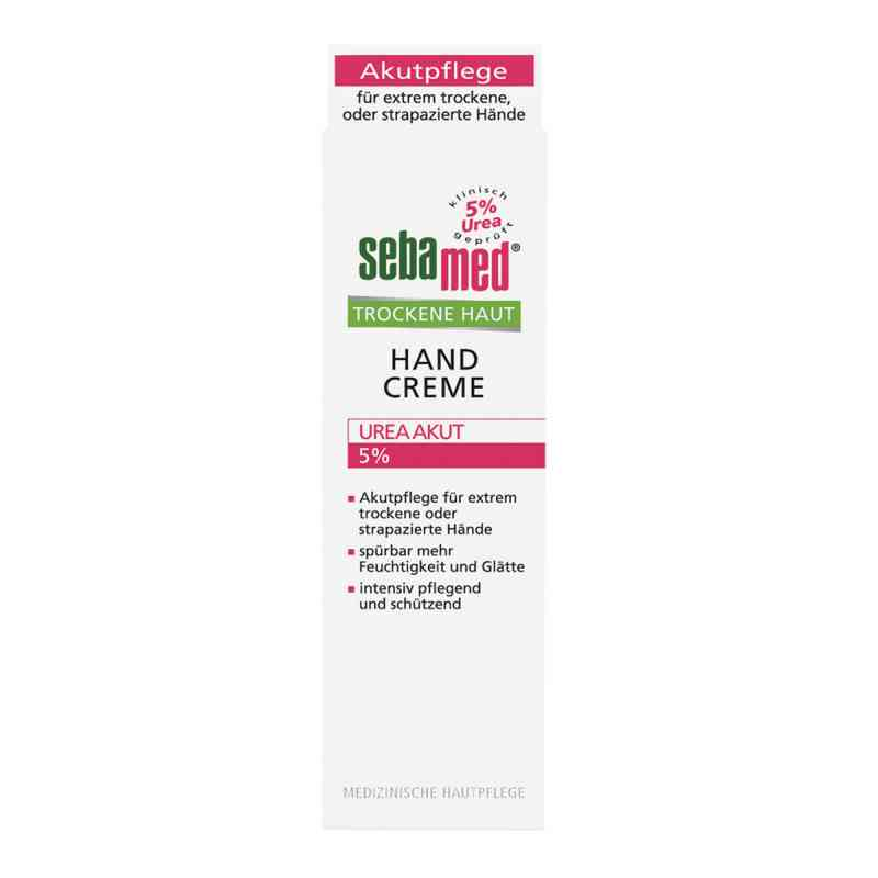 sebamed trockene haut 5 urea akut handcreme 75 ml. Black Bedroom Furniture Sets. Home Design Ideas