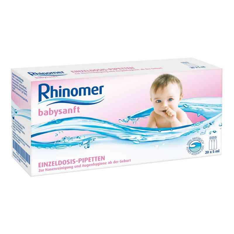 Rhinomer babysanft Meerwasser 5ml Einzeldosispipetten   bei apotheke.at bestellen