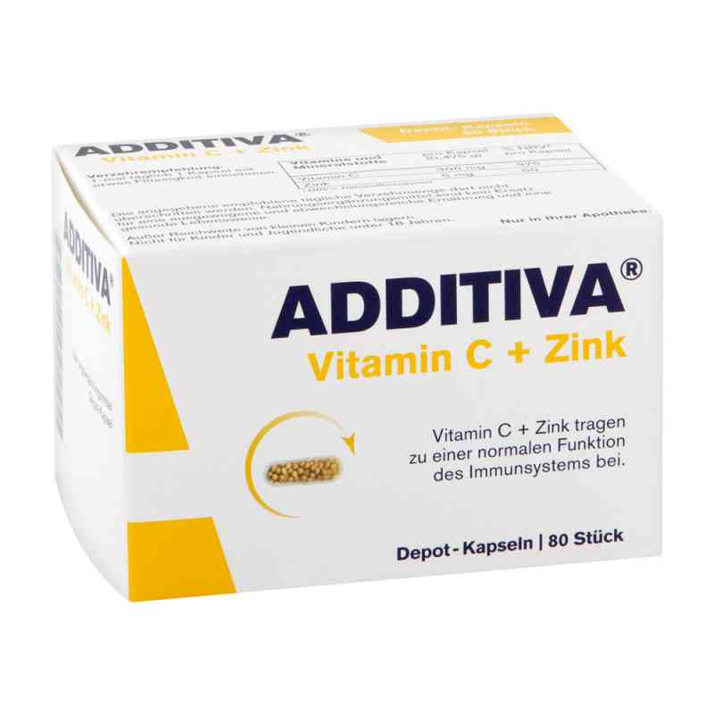 Additiva Vitamin C+Zink Depotkaps.aktionspackung  bei apotheke.at bestellen