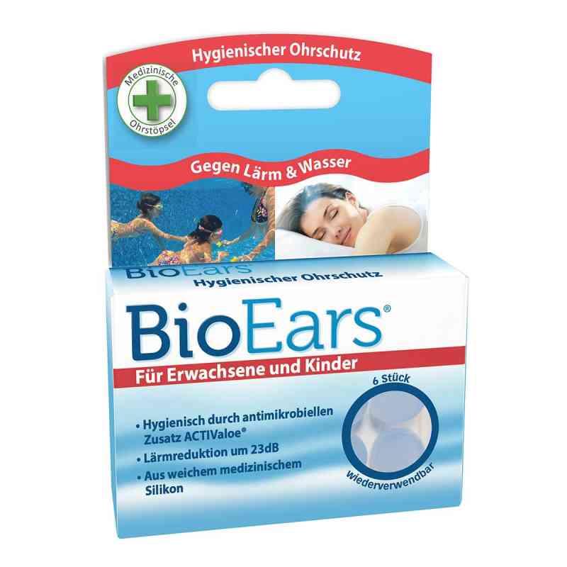 Bioears Silikon Ohrstöpsel antimikrobielle  bei apotheke.at bestellen