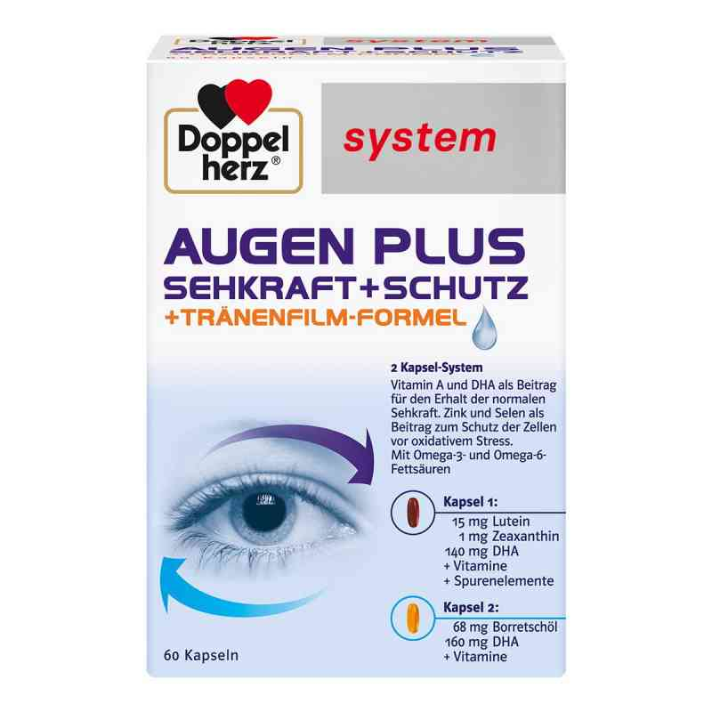 Doppelherz Augen plus Sehkraft+schutz system Kapsel (n)  bei apotheke.at bestellen
