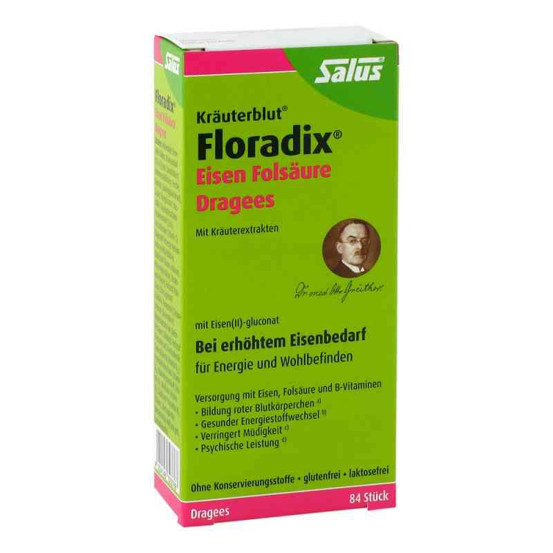 Floradix Eisen Folsäure Dragees bei apotheke.at bestellen