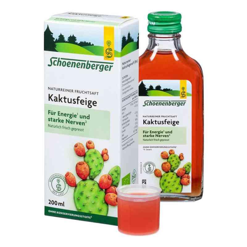 Kaktusfeige Saft bio Schoenenberger  bei apotheke.at bestellen