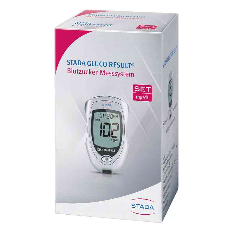Stada Gluco Result Blutzuckermessgerät mg/dl  bei apotheke.at bestellen