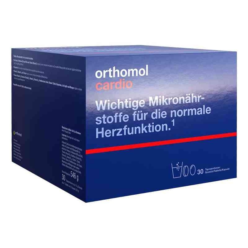 Orthomol Cardio Granulat + Kapseln 30 Kombipackung bei apotheke.at bestellen