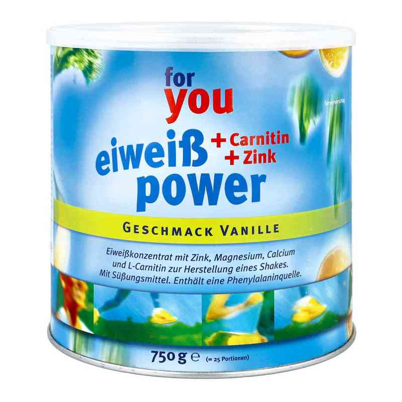 For You Eiweiss Power Vanille  bei apotheke.at bestellen